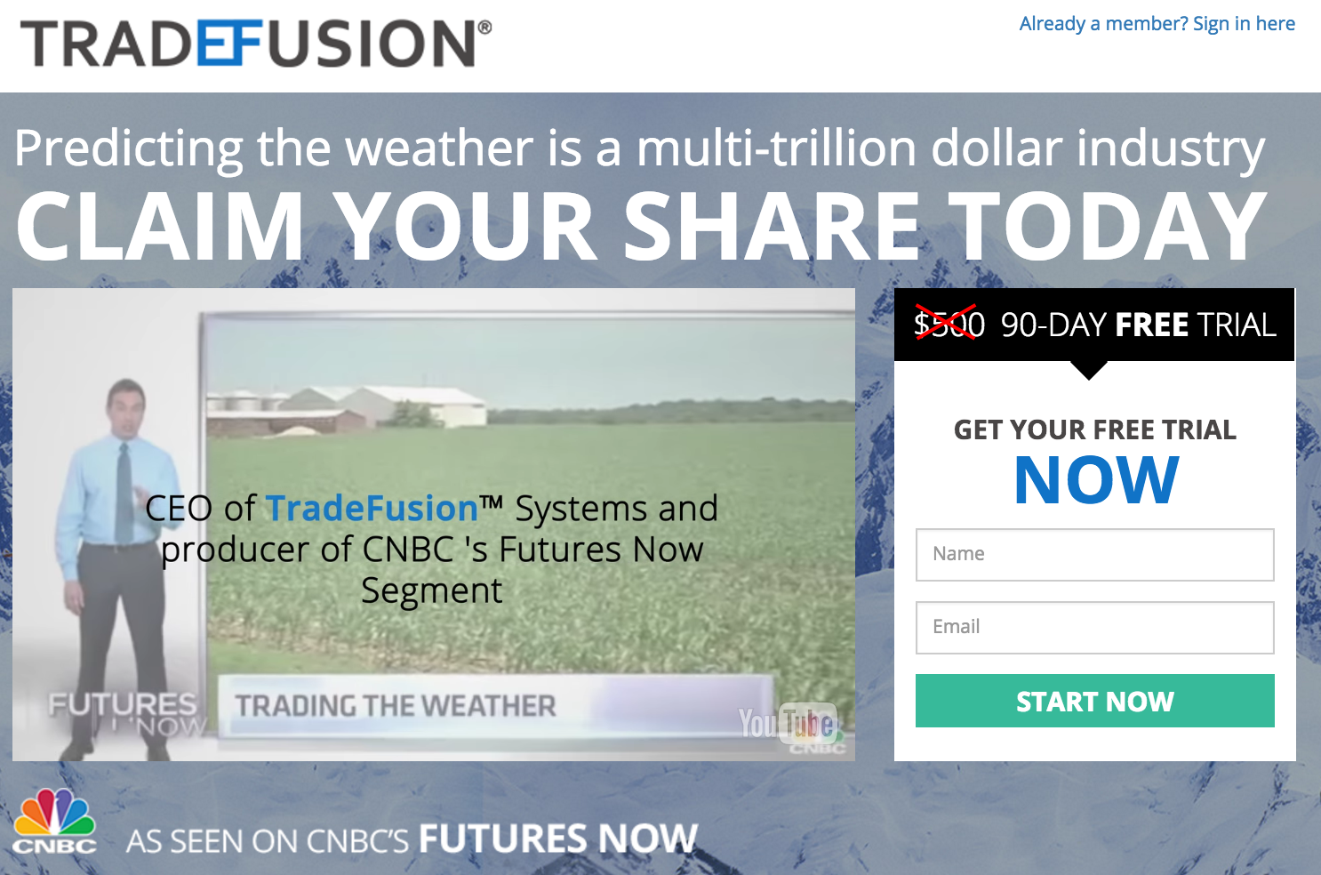 Trade Fusion Software Review - Featured on CNBC?