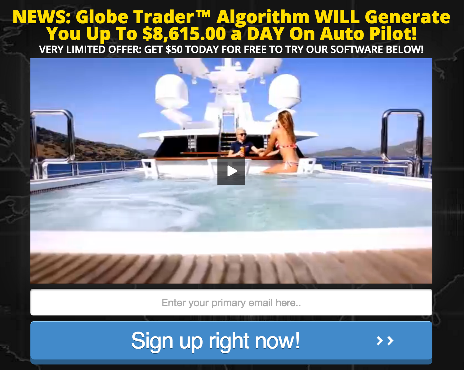Globe Trader Algorithm Review - Scam Exposed!