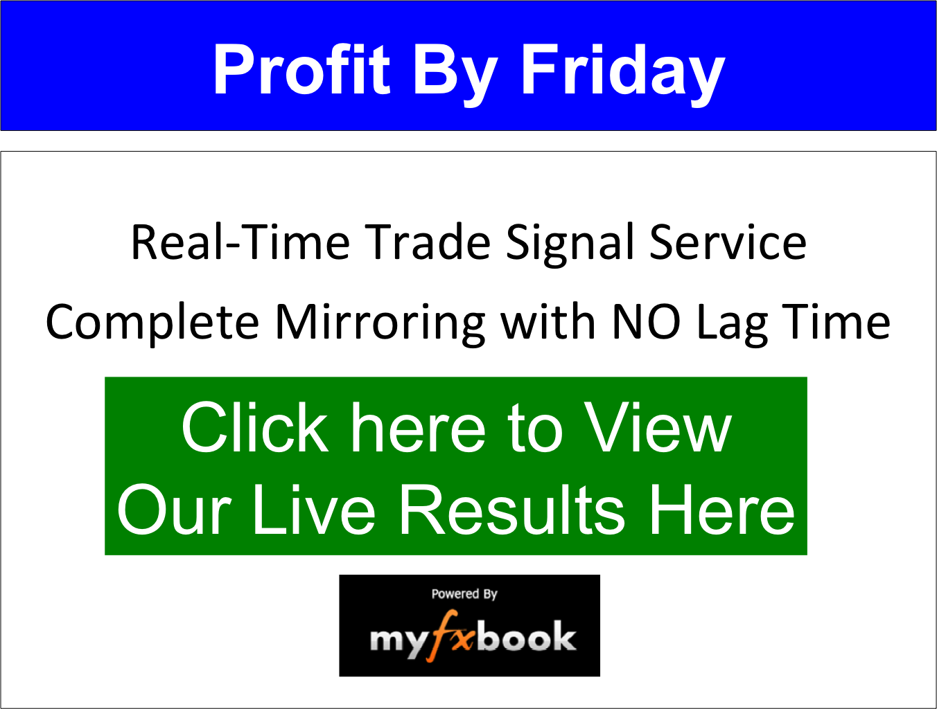 Profit By Friday