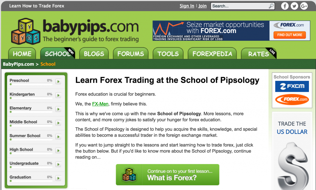 Babypips forex brokers
