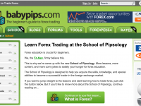 Learn Basic Forex Trading with Babypips School of Pipsology