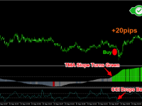 1 Minute Forex Scalping Strategy - Long Trade Example